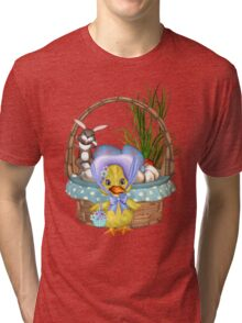 Easter Chicken  Tri-blend T-Shirt