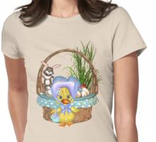 Easter Chicken  Womens Fitted T-Shirt