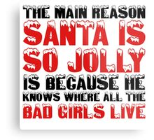 Santa Claus George Carlin Quote Funny Humour Comedy Christmas Metal Print