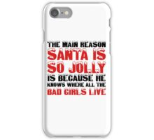Santa Claus George Carlin Quote Funny Humour Comedy Christmas iPhone Case/Skin
