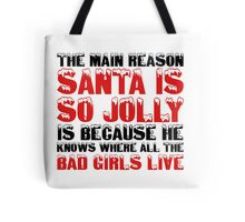 Santa Claus George Carlin Quote Funny Humour Comedy Christmas Tote Bag