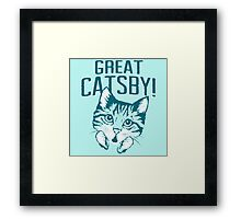 Great Catsby Framed Print