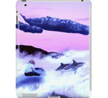 Whale migration iPad Case/Skin