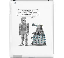 Dalek Adams 2 iPad Case/Skin