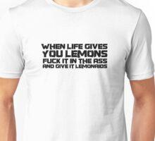 Cool Funny Life Fuck Punk Lemons Unisex T-Shirt