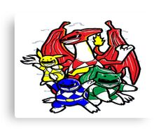 Pokemon Rangers  Canvas Print