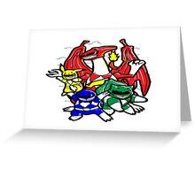 Pokemon Rangers  Greeting Card