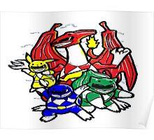 Pokemon Rangers  Poster
