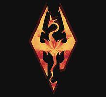 Skyrim Fire Unisex T-Shirt