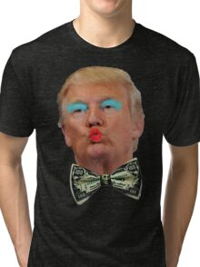 Trump Kissy Face Tri-blend T-Shirt