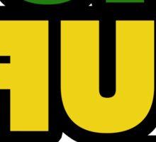 Weed Stoner Puff Puff Pass Pot Funny Cool Rasta Jamaica Sticker