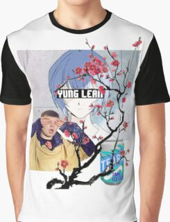 Yung Lean Anime Vaporwave Graphic T-Shirt