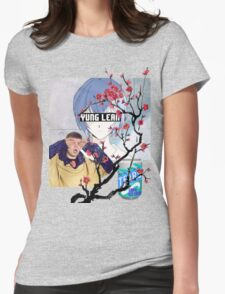 Yung Lean Anime Vaporwave Womens Fitted T-Shirt