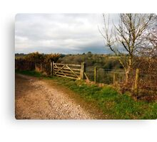 A  Corner of Cornwall Canvas Print
