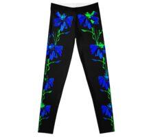 Blume Blau Leggings