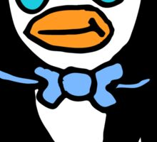 Cute Cartoon Penguin  Sticker