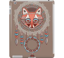 Dream catcher with red fox iPad Case/Skin