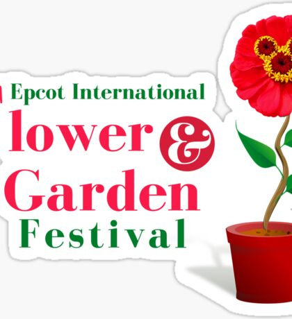 Epcot Flower and Garden Festival Planted Mickey Sticker