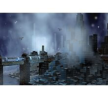 Futuristic City of Tomorrow Photographic Print
