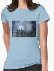 Futuristic City of Tomorrow Womens Fitted T-Shirt