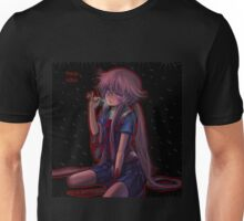 Future Diary Yuno Gasia Psycho Mode Unisex T-Shirt