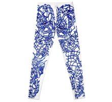 Muster05 blau Leggings