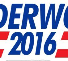 Logo of Underwood 2016 Sticker