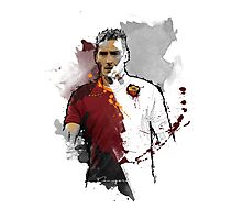 Francesco Totti Painting Photographic Print