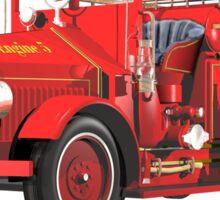 Antique Fire Engine Sticker