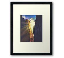 Caminito del rey 4 Framed Print