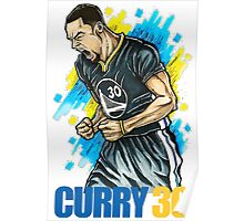 Curry Scream Poster