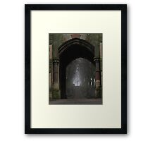 Ethereal route Framed Print