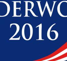 Frank Underwood Sticker Sticker