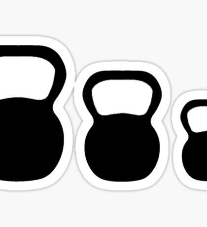 Kettle-bells Sticker