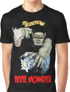 Rubbernorc Beer Monster Graphic T-Shirt
