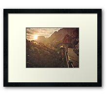 Caminito del rey 5 Framed Print