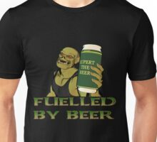 Rubbernorc Fuelled by Beer Unisex T-Shirt