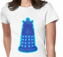 Snowflake Dalek Womens Fitted T-Shirt