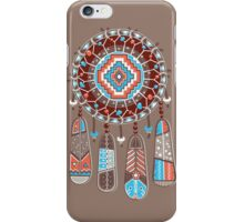 Dream catcher with color feather iPhone Case/Skin
