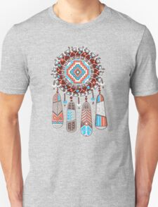 Dream catcher with color feather T-Shirt