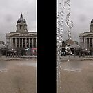 Through the fountain by KMorral