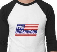 Underwood Logo Men's Baseball ¾ T-Shirt