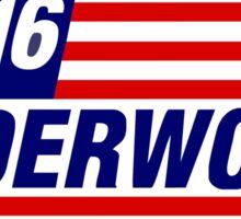 Underwood Logo Sticker
