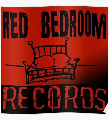 Red Bedroom Records Poster