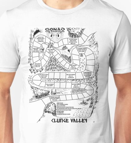 Gonad The Barbarian - Clunge Valley Unisex T-Shirt