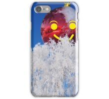 Merry Christmas 3 empty file iPhone Case/Skin