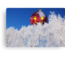 Merry Christmas 3 empty file Canvas Print
