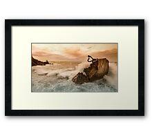 Peine del Viento Framed Print