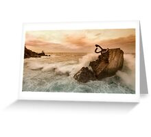 Peine del Viento Greeting Card