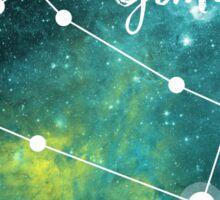 Gemini Zodiac Sign, May 21 - June 20 Sticker